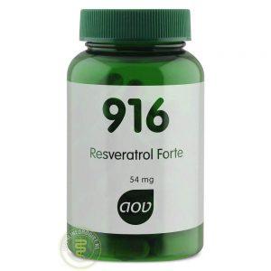 AOV 916 Resveratrol Forte 60mg Vegacaps 60st