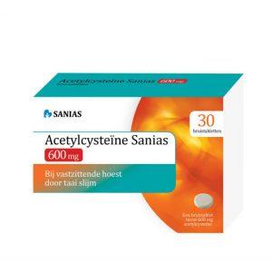 Acetyl cysteine 600 mg
