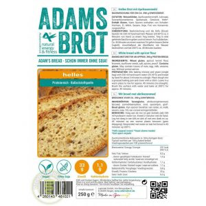 Adams Brot Broodmix Wit