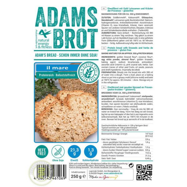 Adams Brot Broodmix il Mare
