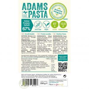 Adams Pasta Vegan
