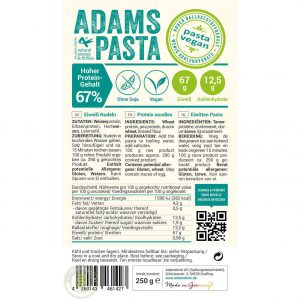 Adams Pasta Vegan