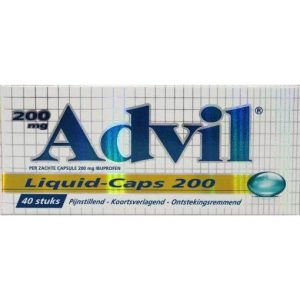 Advil Liquid-Caps 200mg Capsules 40st