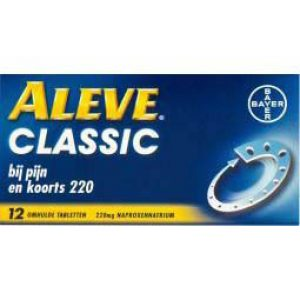 Aleve Classic 220mg Tabletten 12st