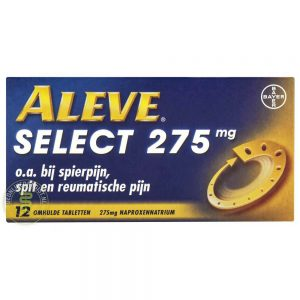 Aleve Select 275mg Tabletten