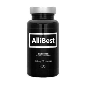 Allibest Knoflook 250mg Capsules 60st