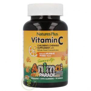 Animal Parade Vitamine C Tabletten 90st