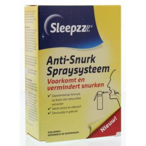 Anti snurk spraysysteem