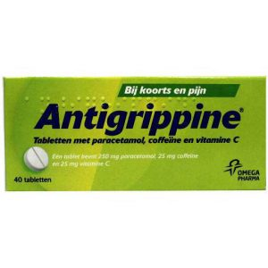 Antigrippine Tabletten 40st