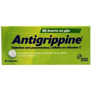 Antigrippine Tabletten 40st