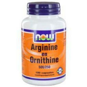 Arginine&Ornithine 500/250 mg