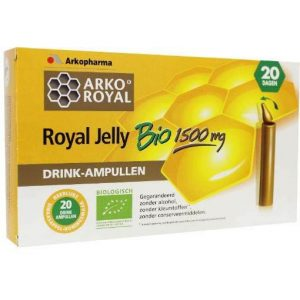 ArkoRoyal Royal Jelly 1500mg Ampullen 20st