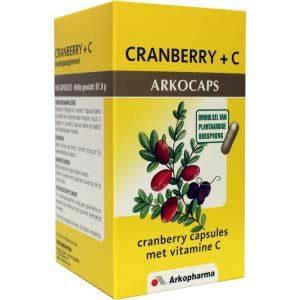 Arkocaps Cranberry + C Capsules 150st