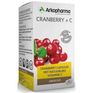 Arkocaps Cranberry + C Capsules 45st