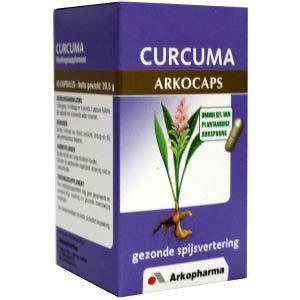 Arkocaps Curcuma + Piperine Capsules 45st