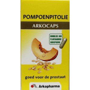 Arkocaps Pompoenpitolie Capsules 45st