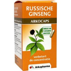 Arkocaps Russische Ginseng Capsules 45st