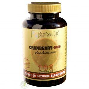 Artelle Cranberry 5000 Capsules 100st