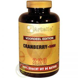 Artelle Cranberry 5000mg Capsules 220st