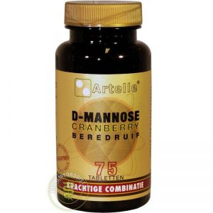 Artelle D-Mannose Cranberry Beredruif Tabletten 75 st