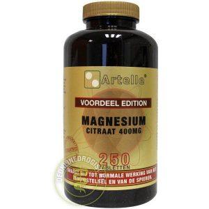 Artelle Magnesium Citraat 400mg Tabletten 250st