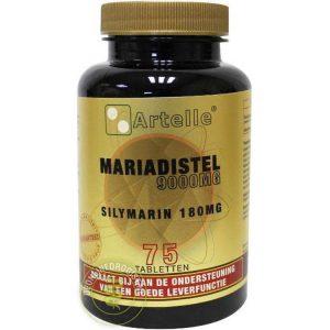 Artelle Mariadistel 9000mg Tabletten 75st