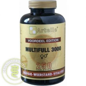 Artelle Multifull 3000 Tabletten 250st