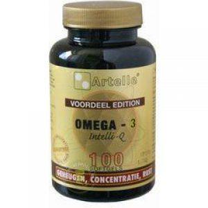 Artelle Omega 3 Intelli-Q Softgel 100 st *