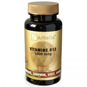Artelle Vitamine B12 1000mcg Zuigtabletten