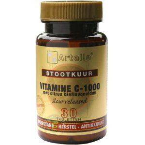 Artelle Vitamine C Stootkuur Tabletten 30st *