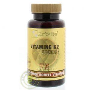 Artelle Vitamine K2 200mcg Tabletten