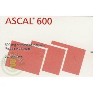 Ascal 600mg Sachets