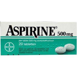 Aspirine Tabletten 500mg