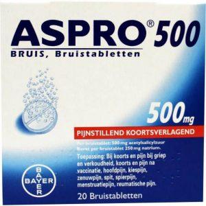Aspro Bruistabletten 500mg 20st