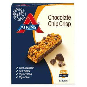 Atkins Chocolate Chip Crisp Grootverpakking (4x150gr)