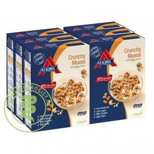 Atkins Crunchy Muesli Grootverpakking (6x325gr)