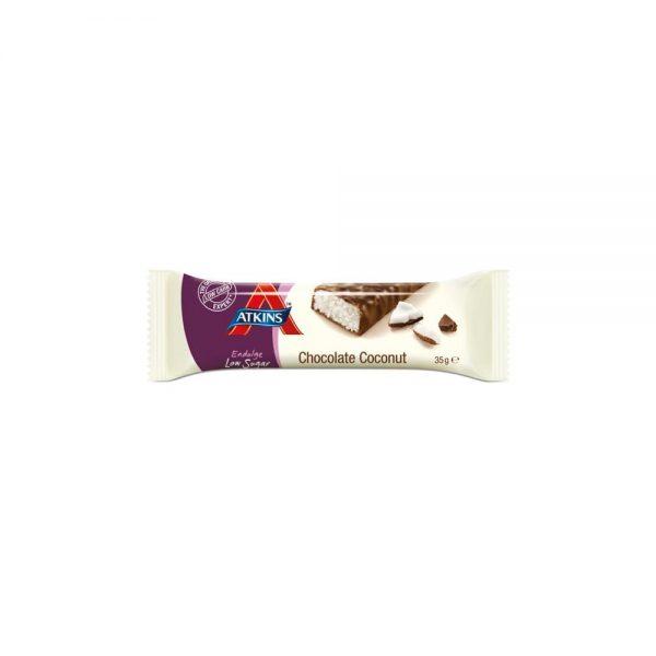Atkins Endulge Reep Chocolate Coconut Grootverpakking (30x35gr)