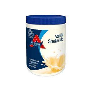Atkins Poedershake Vanille Grootverpakking (4x370gr)
