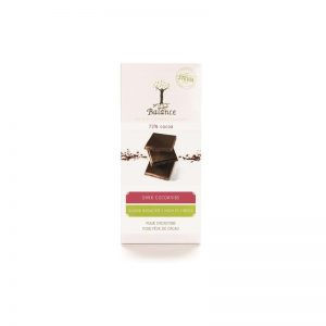 Balance Chocolade Tablet Stevia Puur Cacaonibs