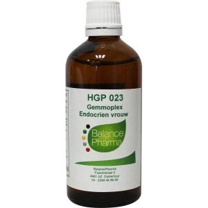 Balance Pharma Gemmoplex HGP 023 Endocrien Vrouw