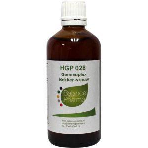 Balance Pharma Gemmoplex HGP 028 Bekken Vrouw