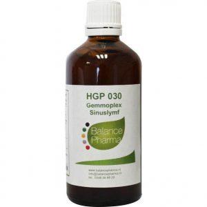 Balance Pharma Gemmoplex HGP 030 Sinuslymf