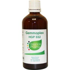 Balance Pharma Gemmoplex HGP 032 Oorlymf