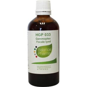 Balance Pharma Gemmoplex HGP 033 Focale Lymf