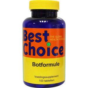 Best Choice Botformule Tabletten 100st