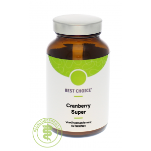 Best Choice Cranberry Super Tabletten 60st
