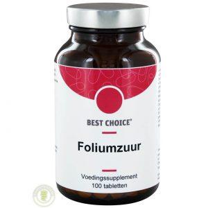 Best Choice Foliumzuur-400 Tabletten 100st