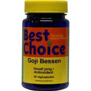 Best Choice Goji Bessen Capsules 30st