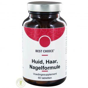 Best Choice Huid Haar & Nagelformule Tabletten 60 st