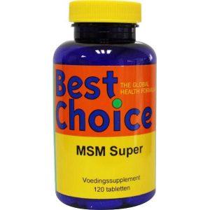 Best Choice MSM Super 120st